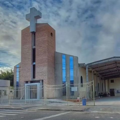 Inauguração da torre do santuário de Nossa Senhora Aparecida, nesta terça