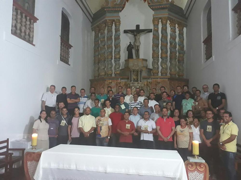 ECIC do clero da Diocese de Estância realizado no mês de abril de 2018, em São Cristóvão