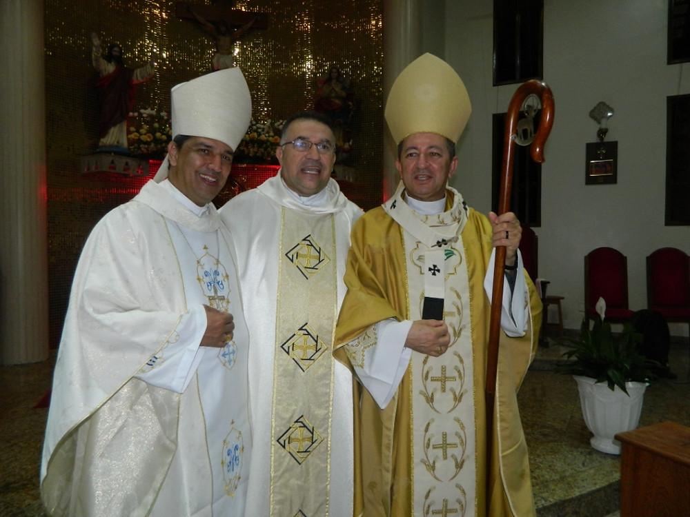 Dom Marcony, Pe. Genivaldo e Dom João Costa
