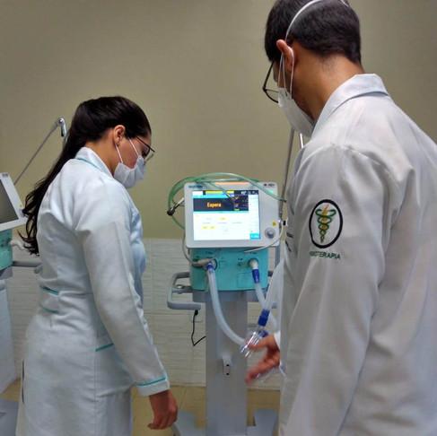 Hospital São José recebe respiradores doados pelo Papa Francisco