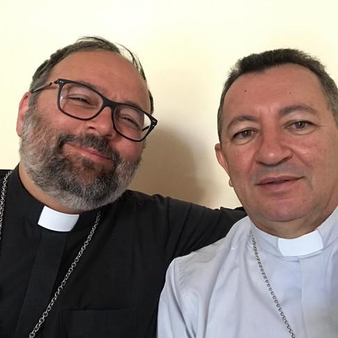 Dom João realiza proveitosa visita a Arquidiocese de Lucca, na Itália