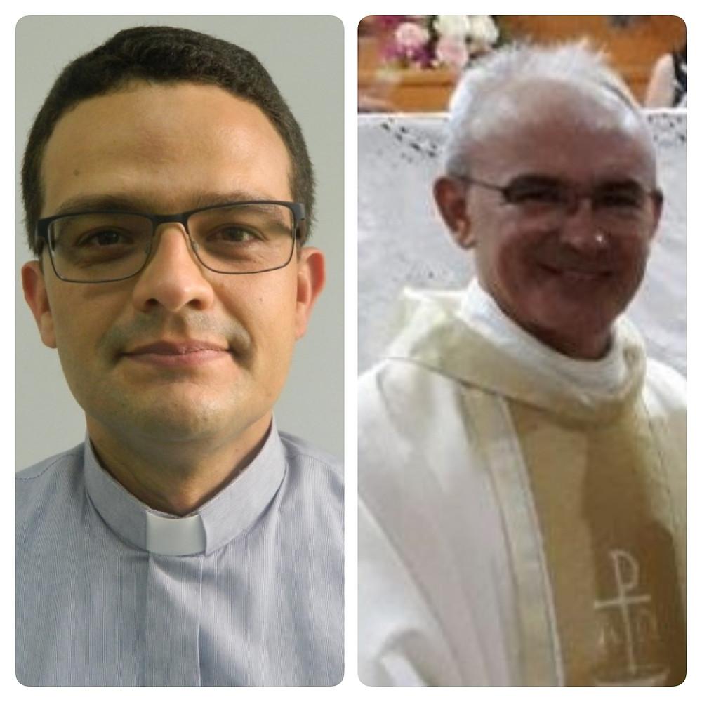 Padre Hernani Romero e Frei Severino