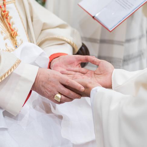 Ordenação Diaconal do seminarista Leandro Flores Santos, em outubro