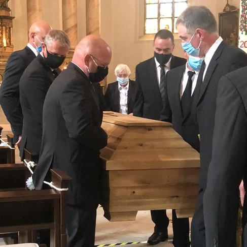 Padre Luís Lemper é sepultado na Alemanha, nesta quarta