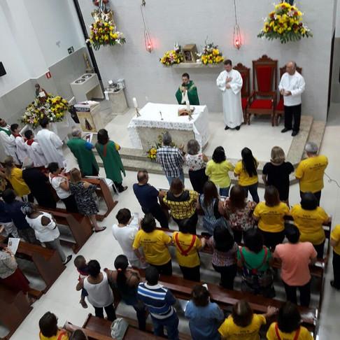 Novenário e festa de São Lucas Evangelista, no Salgado Filho