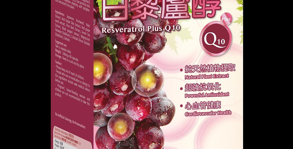 健知己 - 白藜蘆醇 X Q10
