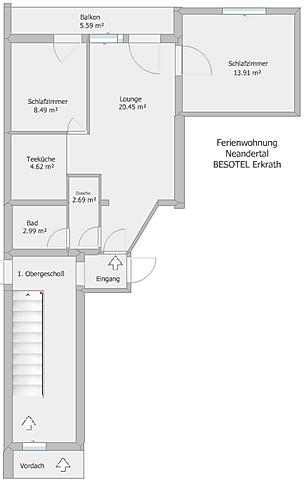 BESOTEL-Grundriß-FEWO-Neandertal-Oberges
