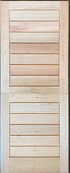 Horizontal Slatted Stable type Door