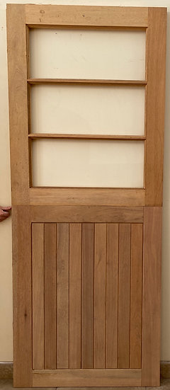 FLB Bottom Glass top stable door with small pane