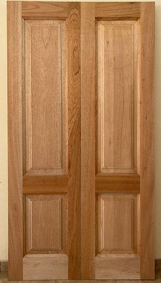 2 Panel Double Doors
