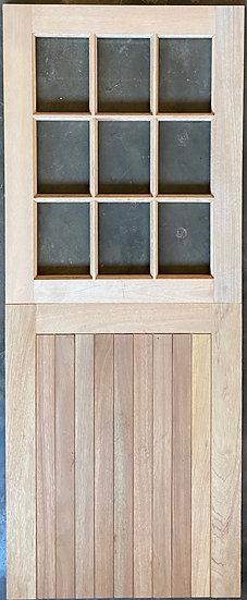 FLB Bottom, Small Pane top Stable Type Door