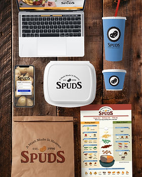 Spuds Brand Collateral