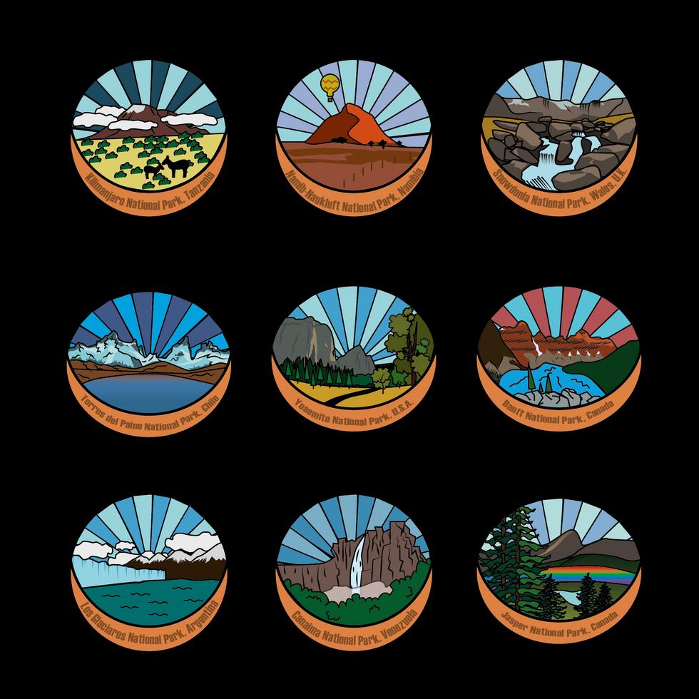 State Park Badges