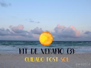 Kit de verano (3): Cuidado after-sun