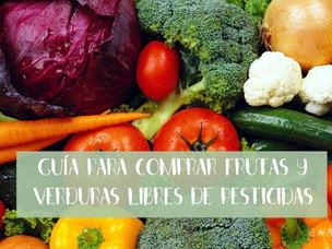 Las frutas y verduras más libres y más llenas de pesticidas del 2016