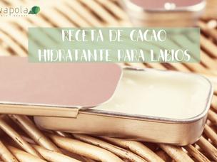 Receta de cacao hidratante para labios