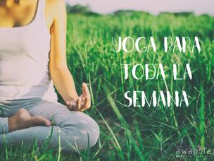 Yoga para toda la semana