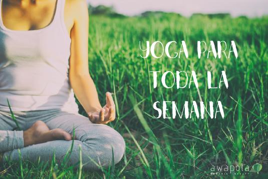 7 días de yoga