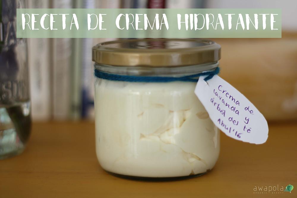 crema hidratentes para cuerpo organica y hecha en casa