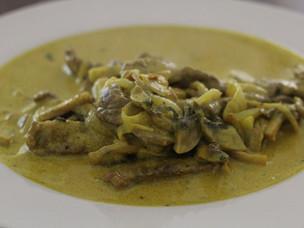 Receta de solomillitos al curry