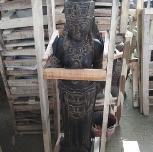 Greenstone Antique Dewi Sri