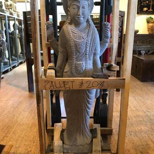 Standing Shiva Front