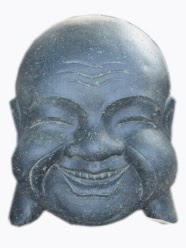 Buddha Head Happy Option
