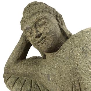 Lying Budda Face Angle