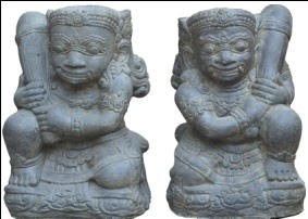 Temple Guardian Pair