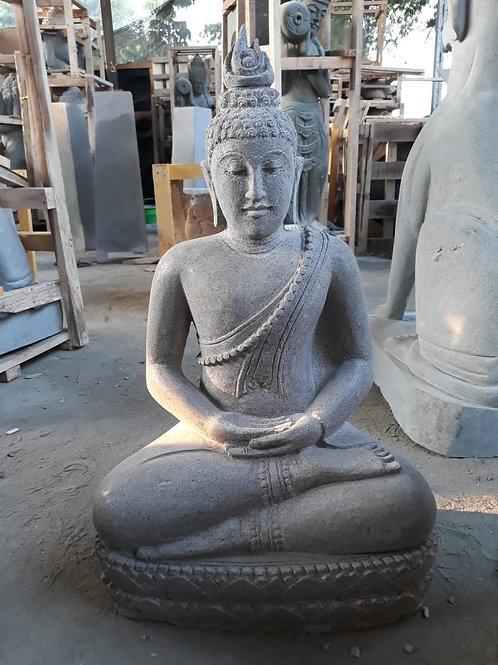 Thai Sitting Buddha (Riverstone)
