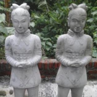 Chinese Warrior Standing