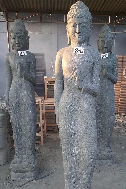 Javanese Standing Buddha (Natural Greenstone)