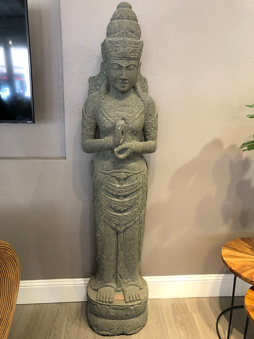 Dewi Sri (Natural Greenstone)
