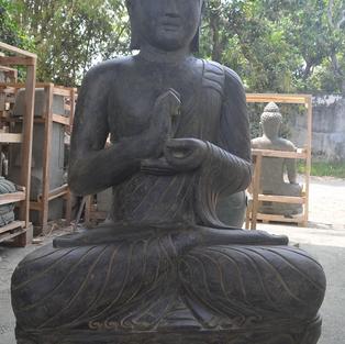 Greenstone Antique Sitting Buddha