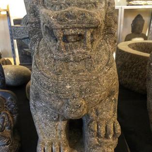 Temple Lion - Front