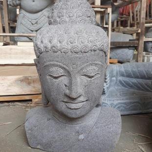 Riverstone Buddha Bust