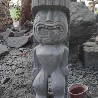 Tiki Man Front View