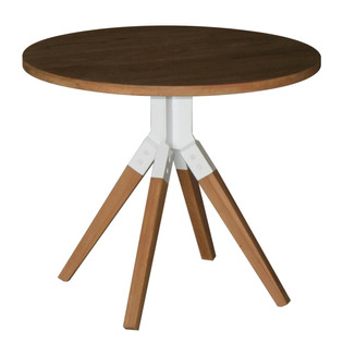 21.14568 DONGEN ROUND DININGTABLE WITH I