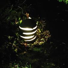 Illuminated Slice Lantern