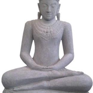 Riverstone Sitting Buddha Khmer