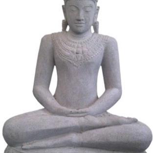 Sitting Buddha Khmer (Riverstone)