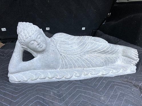 Javanese Lying Buddha (Riverstone)