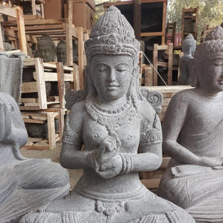 Riverstone Sitting Dewi Sri