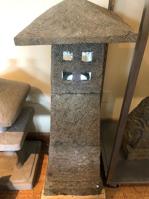 Temple Lantern (Natural Greenstone)