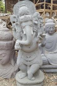 Riverstone Standing Ganesha