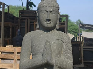 Sitting Javanese Buddha Statue
