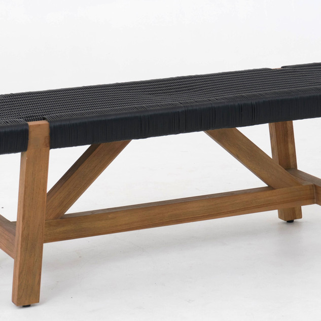 82.14884 BENCH RC Synthetic Weave Black.