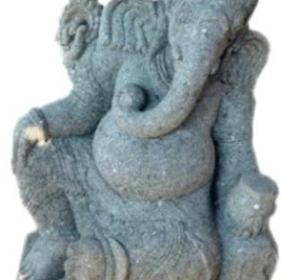 Leaning Ganesha