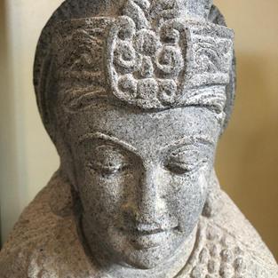 Shiva Face & Headpiece Detail