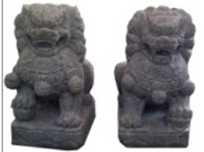 Temple Lions (Pair)